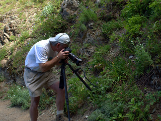 Craig Taking Wildlife Photos | by Cascadian Farm