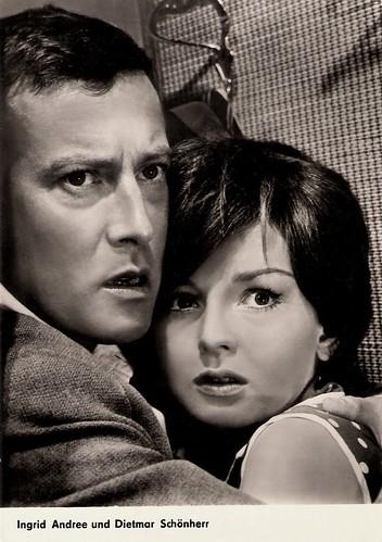 Dietmar Schönherr and Ingrid Andree in Treibjagd auf ein Leben (1961)