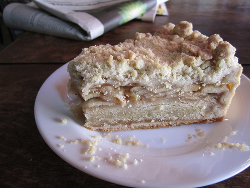 Apple Pie at Cafe Morgenrot | by veganbackpacker