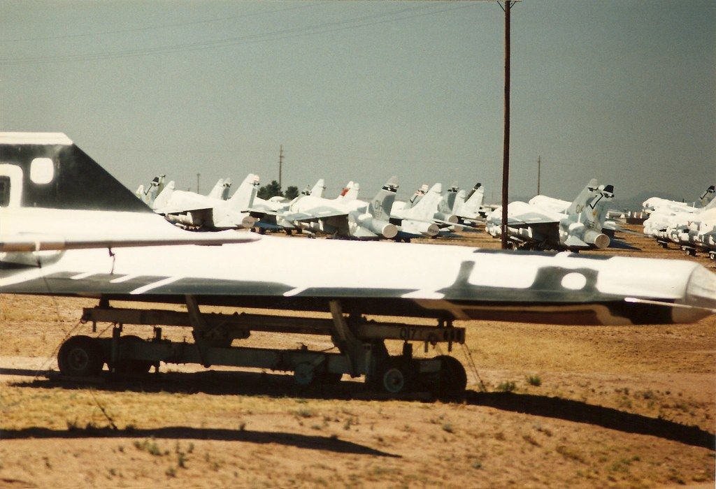 Lockheed D-21 supersonic drone, AMARC