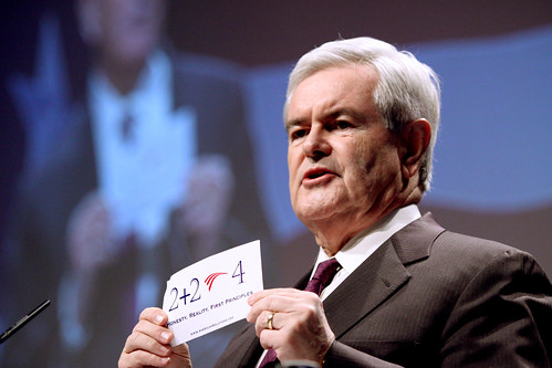 Newt Gingrich | by Gage Skidmore