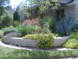 Xeriscape landscape design dallas texas this xeriscape for Garden design landscaping dallas tx