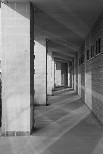 Light and Shadow at CyFair_blackandwhite | by Frank Codispoti