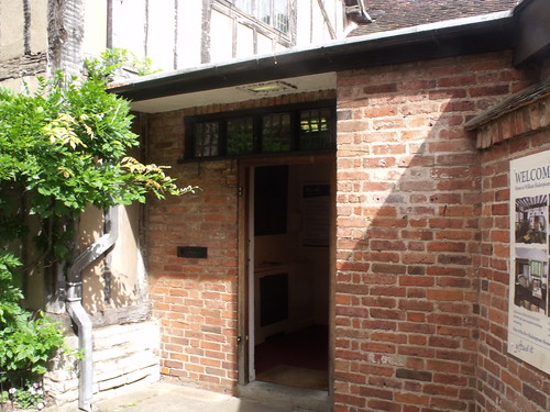 Hall's Croft, Old Town, Stratford-upon-Avon - another door | by ell brown