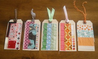 scrappy selvedge gift tags | by vickivictoria