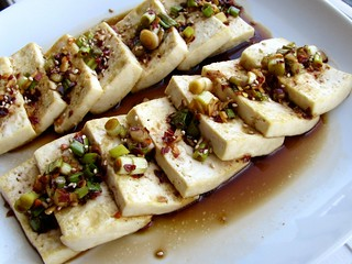 Korean Pan-Fried Tofu with Spicy Sauce | by Vincci T