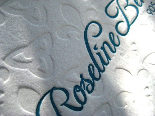 Calling Card - Roseline | by Papillon Press