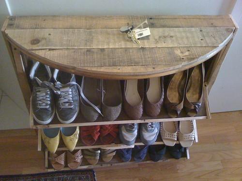 Угловая полка для обуви своими руками - Ve-sim.ru