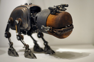 UK - Oxford - Steampunk 02 - Robot pet | by Darrell Godliman