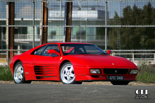 Photoshoot: Ferrari 348 GT Competizione | by celsydney