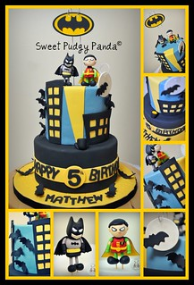 Batman Cake Collage | by Sweet Pudgy Panda