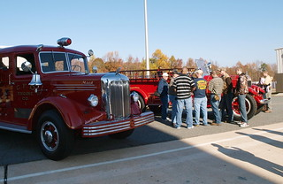 CFD Displays 5 Antique Fire Engines' | by charlottefire