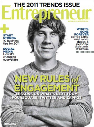 Hey, they put me on the cover of Entrepreneur magazine! @chelsa is psyched cause she gave me that haircut! Ha! | by dpstyles™