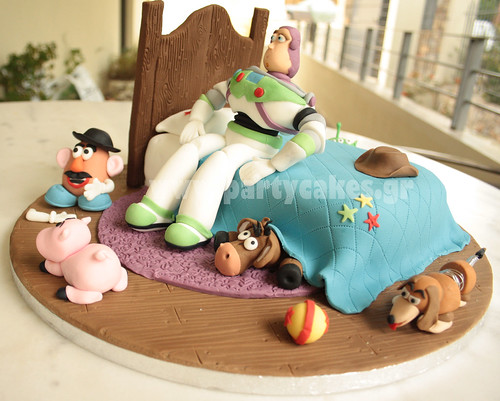 Toy Story Cake for a Buzz Lightyear fan | by Party Cakes By Samantha
