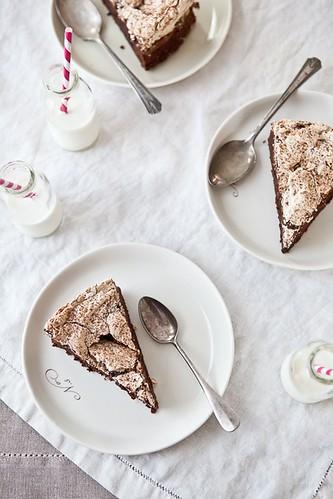 Chocolate & Hazelnut Meringue Cake | Recipe and story on ...