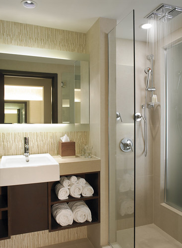 Spa Inspired Bathrooms with Aveda Toiletries | by thepalmshotel