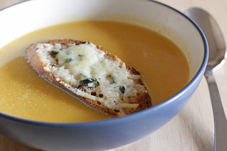 squash soup | by Madison Bistro