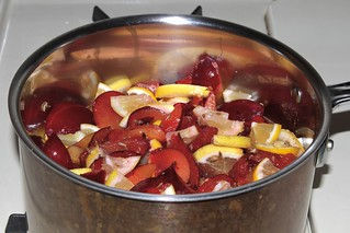 Plum Chutney ingredients mixed | by 1lenore