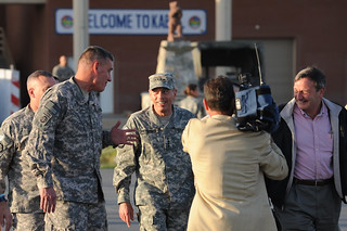 General Petraeus Arrives in Kabul | by ResoluteSupportMedia
