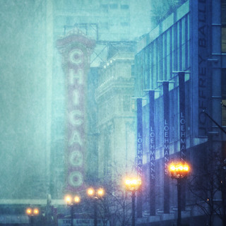 Chicago Theater 2011 Snowstorm | by mckenziemedia