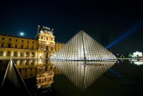 Louvre at Night | by chylle