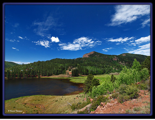 Gold camp road private fishing lake flickr photo for Fishing lakes in colorado springs