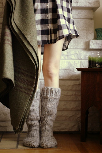country cottage socks | by postscript love