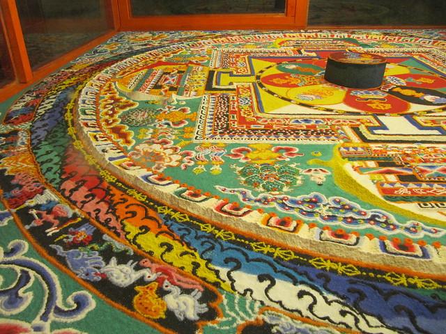 Mandala in Tibet