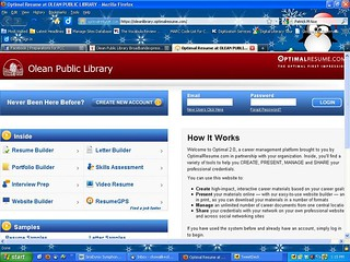 Optimal Resume Software | by Olean Public Library