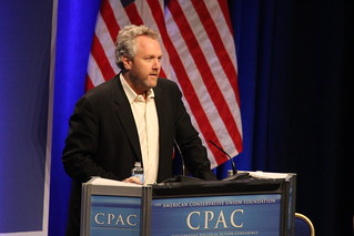 Andrew Breitbart speaking at CPAC 2011. | by markn3tel