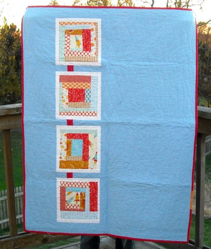 rocket charity quilt | by vickivictoria