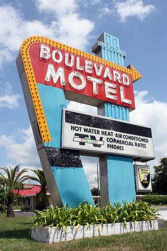 Boulevard Motel Deland Florida