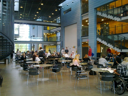 Sammon keskuslukio, aula oikea | Johanna | Flickr