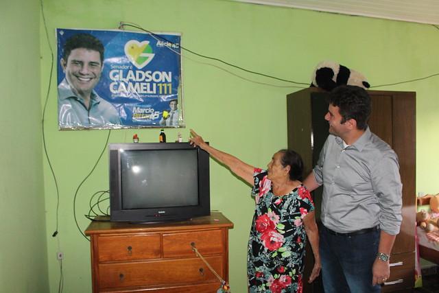 Visita Maria de Nazaré - Rio Branco