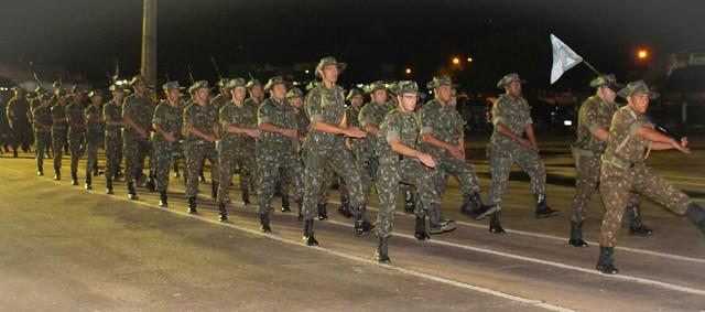 Passagem de Comando - 7º BEC