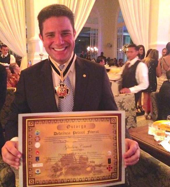 Homenagem com Medalha da Polícia Federal - 2013 4