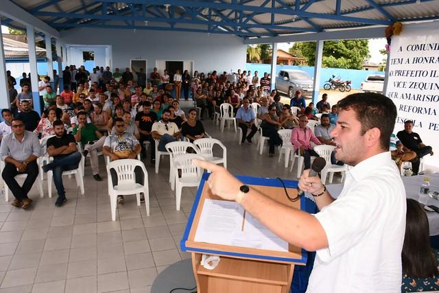 Reinauguração da escola municipal Padre Arnaud - CZS