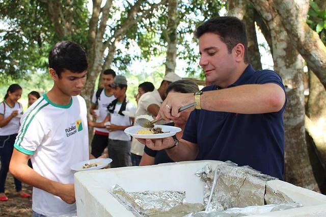 Almoço Ramal do Espinhara - Bujari