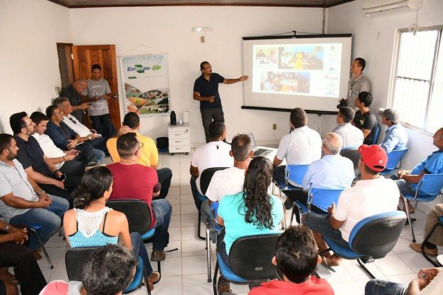 Reunião Embrapa - Produtores Rurais do Juruá