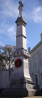 Carroll County Civil War Monument (Carrollton, Mississippi) | by courthouselover
