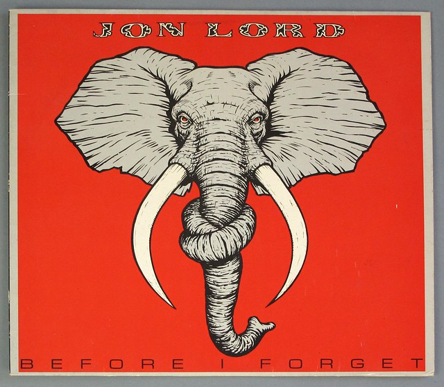 "JON LORD BEFORE I FORGET ORIG ELEPHANT NM/NM a1/B1 12"" LP VINYL"