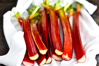 ruby red rhubarb | by The Red Spoon