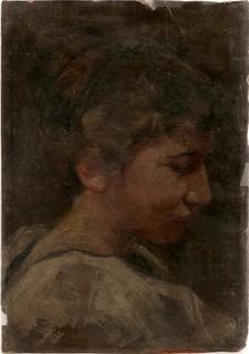 1911 Ella Bolli Van Gilder oil portrait
