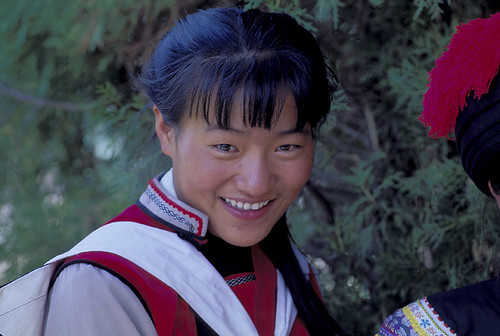 Smiling young woman China | by World Bank Photo Collection
