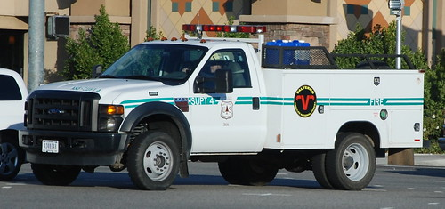 USDA FOREST SERVICE FIRE SUPT 4 - FORD SUPERDUTY UTILITY TRUCK | by Navymailman