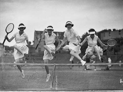 Country week tennis, 5 January 1937, by Sam Hood | by State Library of New South Wales collection