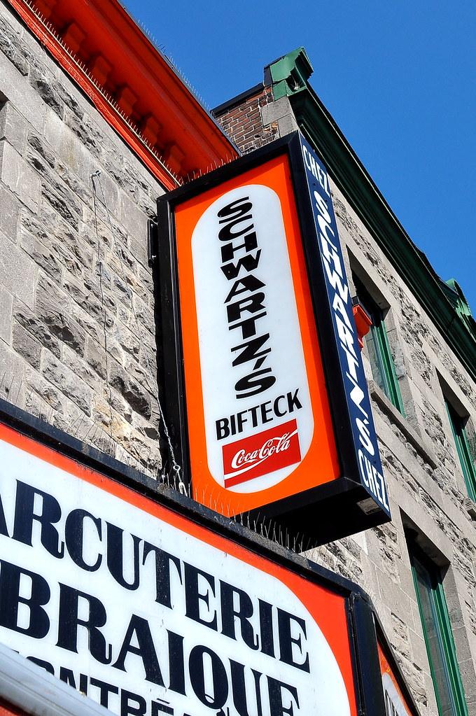 Schwartz's Montreal Hebrew Delicatessen -  Montréal