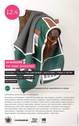 12.4.11 A5 MAGAZINE presents: The Home issue launching event | by A5 Magazine