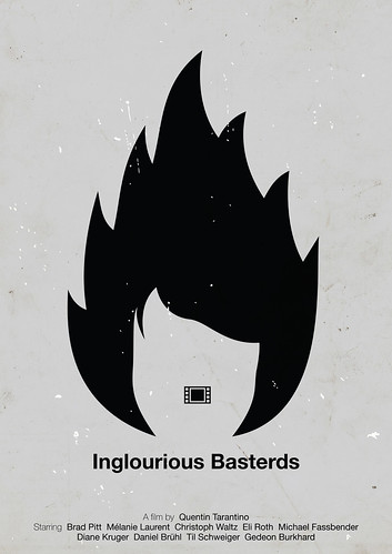 'Inglourious Basterds' pictogram movie poster | by Viktor Hertz