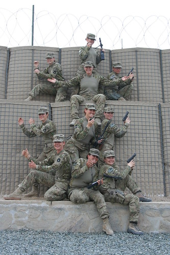 1-133rd Inf. Female Engagement Team strikes a pose | by IowaRedBulls
